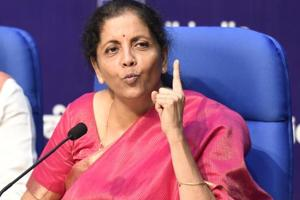 'Expect 8- growth from this year': Finance minister Nirmala Sitharaman