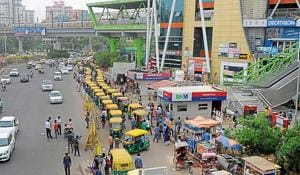 Municipal agency, RTO pass the buck over construction of auto-rickshaw stands in Gurugram