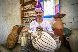 Photos: Social media comes to the rescue of Morocco's last woman potters