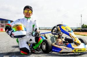 Arafath Sheikh is 'India's youngest karting sensation'