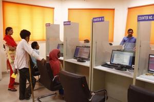 Government welfare facilitation centres in Gurugram waiting for funds