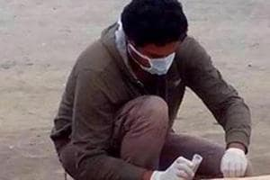 Tension in Gurugram's Sadar Bazar after pieces of carcass found