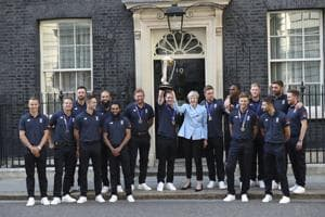 World Cup 2019: Cricket loving UK PM Theresa May hails World Champions England