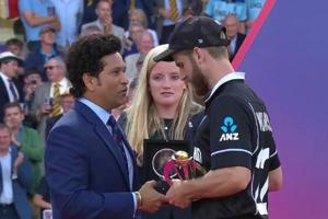 Sachin Tendulkar reveals what he told Kane Williamson after New Zealand lost the World Cup final