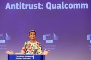 EU fines Qualcomm -271 million for 'predatory pricing'