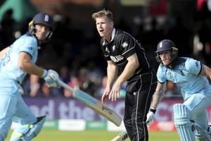 New Zealand all-rounder Jimmy Neesham's coach died during World Cup final Super Over