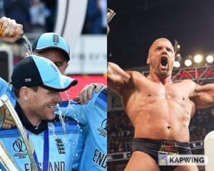 World Cup 2019: Champions England receive unexpected gift from WWE COO Triple H