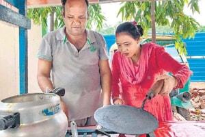 Gurugramwale:Couple's thali