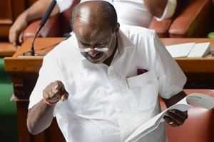 'Protect me': Kumaraswamy's SOS to Speaker after Governor's 'love letter'