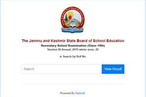 JKBOSE 10th biannual winter zone Jammu Division Result 2019 declared