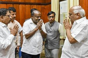 Curtains for HD Kumaraswamy govt as coalition loses floor