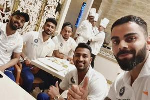 Virat Kohli shares pic with teammates as 'Men in Blue' gear up for WI t...