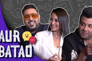 Khandaani Shafakhana interview || Badshah, Sonakshi reveal celebrity cr...