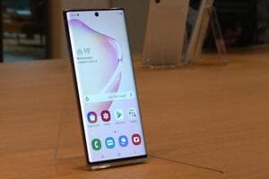Watch: Hands-on with the new Galaxy Note 10