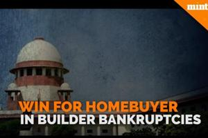 Win for homebuyers in builder bankruptcies