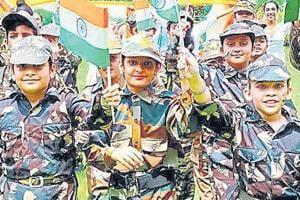 Independence Day celebrations at Gian Jyoti