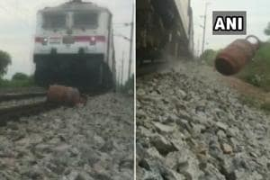 Andhra man puts LPG cylinder on railway track to shoot viral video, arrested