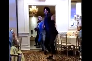 Bhangra squad enters party with total swag- Video will make you want to dance