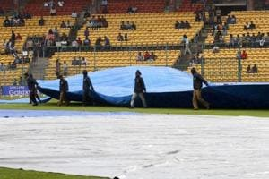 Wet ground conditions leads to no play on second day of Duleep Trophy opener