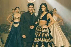 LFW 2019: Katrina walks ramp for Manish Malhotra; stuns in black lehenga