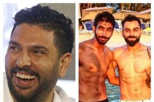 Yuvraj Singh trolls Jasprit Bumrah for flaunting six-pack abs