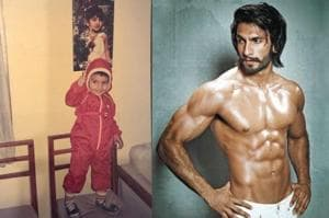Ranveer Singh shares childhood pic with fashion sense intact, fans ask if he is related to Guruji- See pics