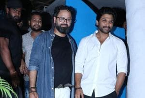 Allu Arjun spotted at Batla House success party, rumoured to make Bollywood debut soon- See pics
