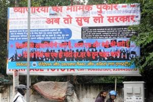 Jharkhand trade body puts up posters to highlight problems, 'govt's apathy'