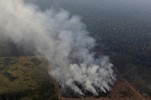 Photos: Amazon reports record surge in forest fires