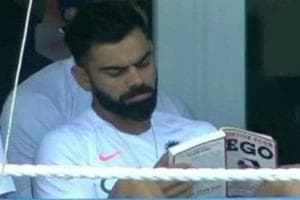 India vs West Indies: Virat Kohli reading book titled 'Detox Your Ego' sends twitter into frenzy