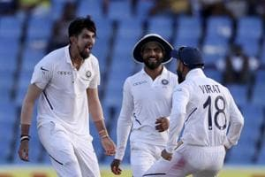 India vs West Indies 1st Test:Windies reach 189/8 at stumps on Day 2