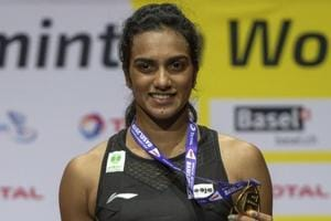 Sindhu becomes first Indian shuttler to win BWF World Championships gold