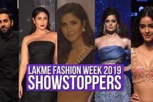 Showstoppers at the Lakme Fashion Week Winter Festive 2019