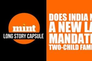 Long Story Capsule: Does India need a new law mandating two-child famil...