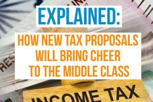 Explained: How new tax proposals will bring cheer to the middle class