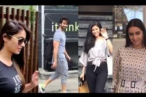 Shahid Kapoor, Disha Patani, Sonam Kapoor spotted in Mumbai