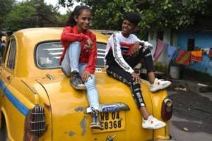 Photos: Two Kolkata kids cartwheel into a viral sensation