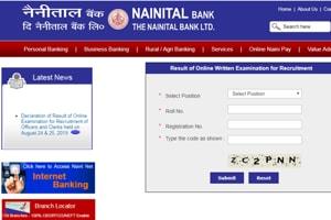 Nainital Bank Recruitment exam 2019 results declared at nainitalbank-co-in