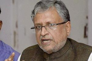 'When Captain is hitting 4 - 6': Sushil Modi response to call to replace Nitish Kumar
