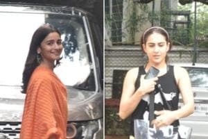 Alia Bhatt spotted at Sanjay Leela Bhansali's office, Kartik Aaryan and Sara Ali Khan seen at gym- See pics