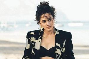 Taapsee Pannu: I shop outside the country from high street brands, as I can't walk into a mall and try on clothes here