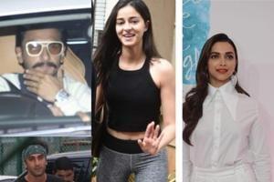 Have you seen these latest pics of Deepika Padukone, Ranbir Kapoor, Ranveer Singh and Ananya Panday?