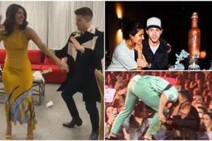 Priyanka Chopra-Nick Jonas dance to Hauli Hauli on his birthday, she gives him a kiss as crowd goes wild- Watch