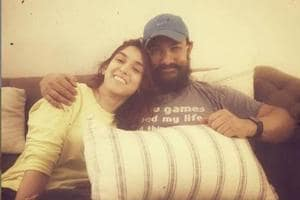 Ira Khan chills with her 'couch buddy' dad Aamir Khan in cute new pic- Check it out here