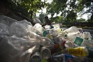 Photos: Delhi government mulls ban on some single-use plastic items