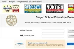 PSEB supplementary result 2019: Punjab board 10th, 12th result declared at pseb-ac-in