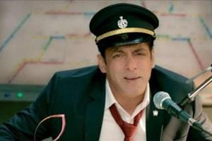 Salman Khan took on the role of a station master in the first promo for Bigg Boss 13.