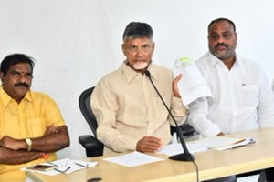 Andhra govt serves fresh eviction notice to Naidu, told to leave in 7 days