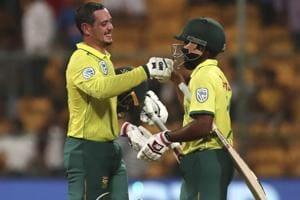 India vs South Africa:Quinton de Kock calls the shots as hosts battered