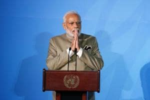 'Time to talk is over, time to act now': PM Modi at UN climate summit in New York